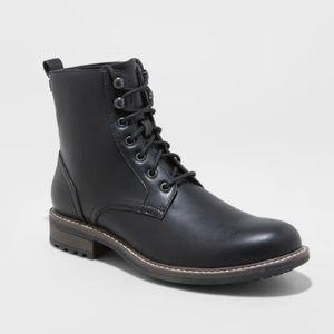 Men's Boston Casual Fashion Boots - Black